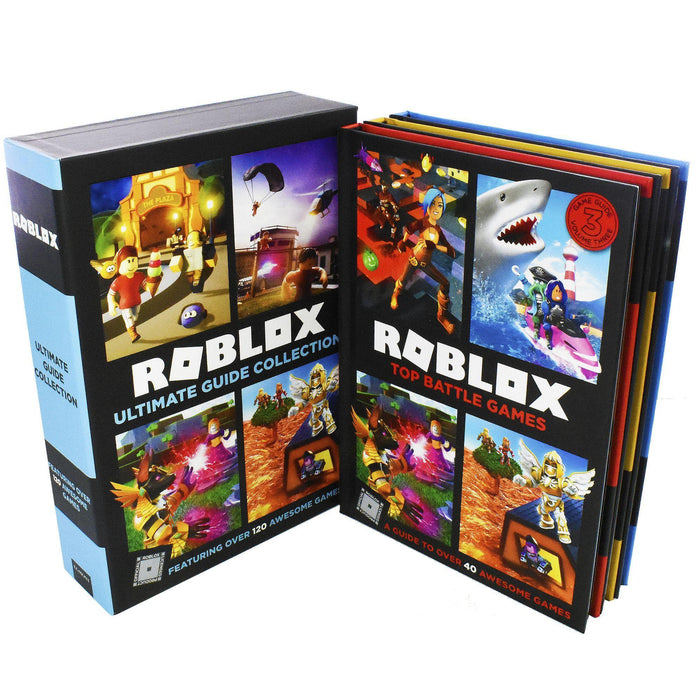 Roblox Ultimate Guide 3 Books Children Collection - Gaming - Paperback - Egmont Publishing UK - Books2Door