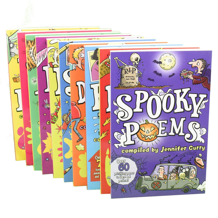 Scholastic Poetry  Magic Poems 10 Books - Ages 7-9 - Paperback - Jennifer Curry - Books2Door