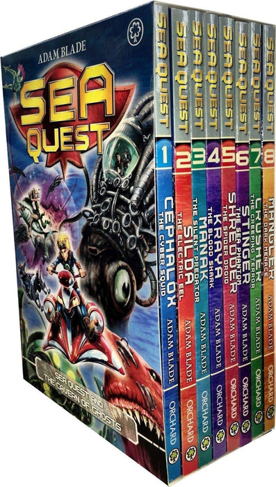 Sea Quest Series 1 and 2 - 8 Books Box Set - Books2Door