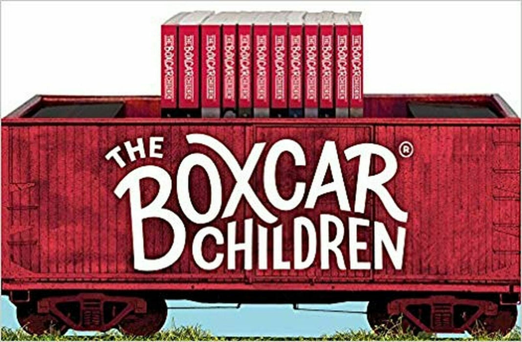 The Boxcar Children Bookshelf 12 Books Collection - Ages 7-9 - Paperback by Gertrude Chandler Warner - Books2Door