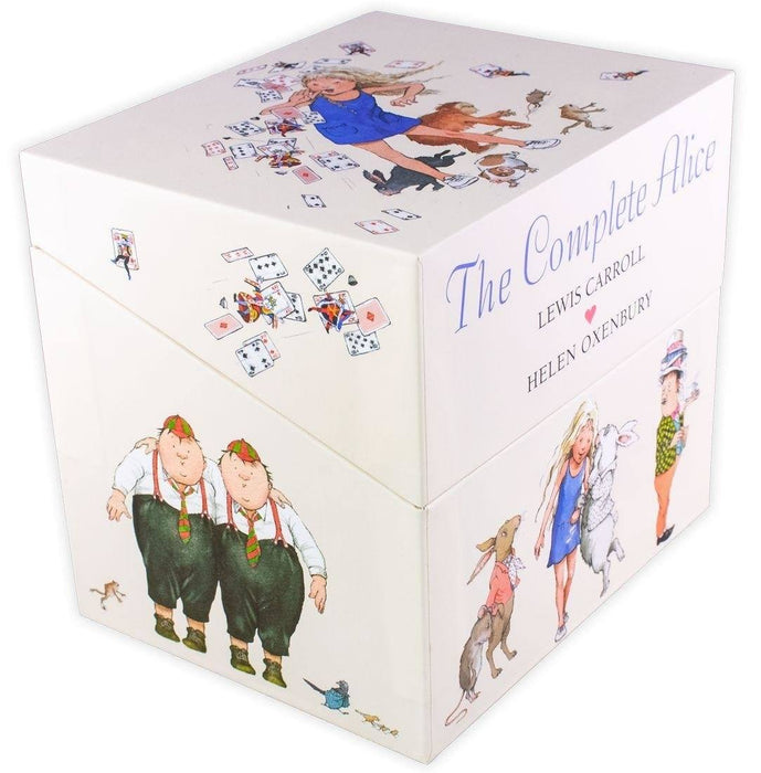 The Complete Alice 22 Book Collection - Ages 7-9 - Hardback - Lewis Carroll & Helen Oxenbury - Books2Door