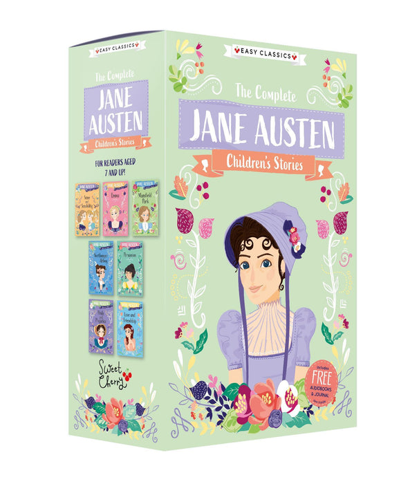 The Complete Jane Austen Childrens Easy Classics 8 Books Collection - Age 7-9 - Paperback 7-9 Sweet Cherry Publishing