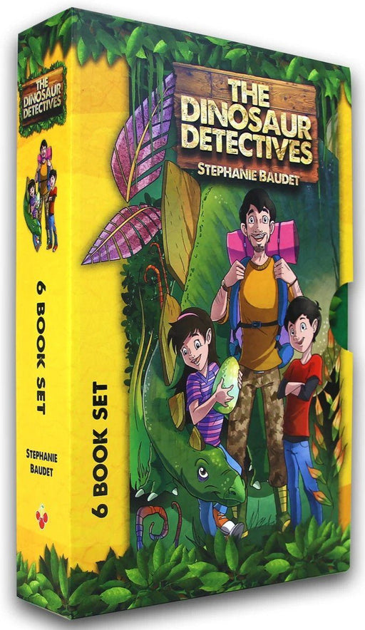 The Dinosaur Detectives Six Book Collection - Adventure Fiction - Paperback - Stephanie Baudet - Books2Door