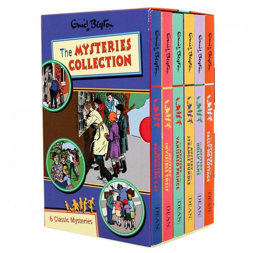 7-9 - The Enid Blyton Mysteries Collection Books 7-12 - Paperback - Age 7-9