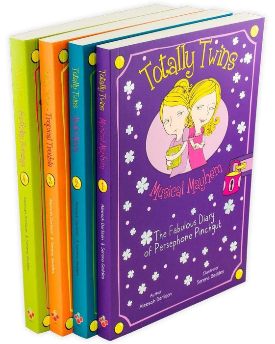 The Fabulous Diary of Persephone Pinchgut Totally Twins 4 Books - Ages 7-9 - Paperback - Aleesah Darlison - Books2Door
