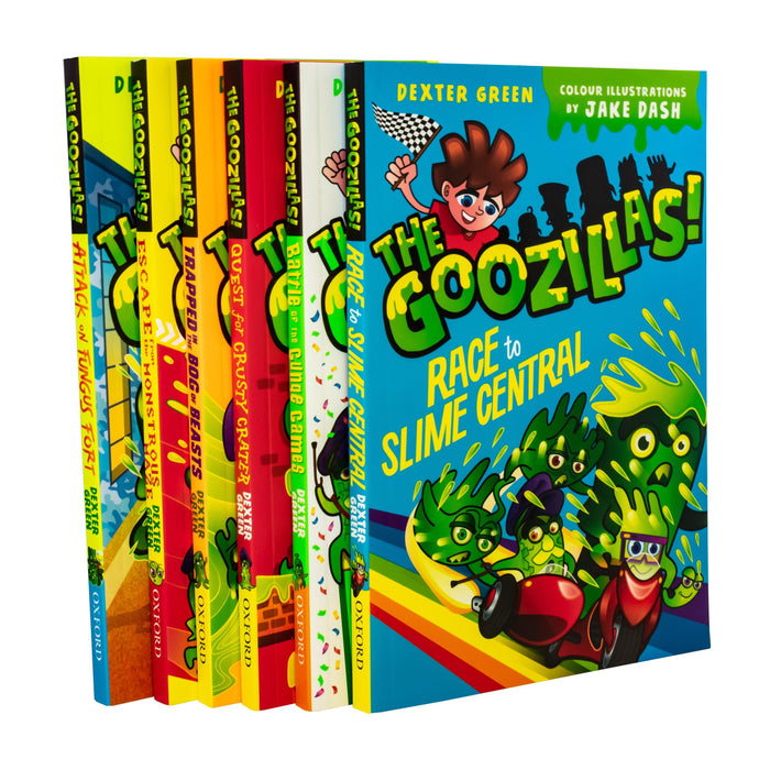The Goozillas 6 Book Collection - Ages 7-9 - Paperback - Dexter Green - Books2Door
