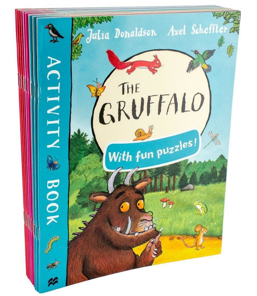 The Gruffalo and Friends 10 Books Activity Collection - Ages 7-9 - Paperback - Julia Donaldson - Books2Door
