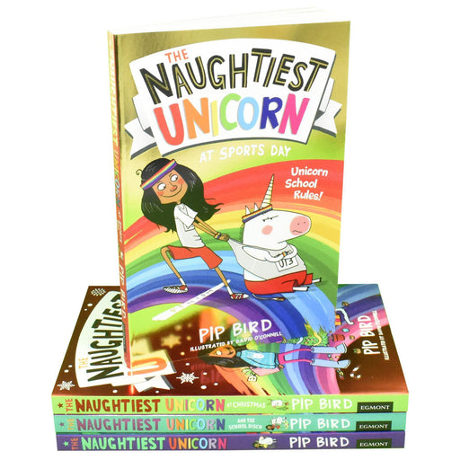 The Naughtiest Unicorn 4 Books Collection - Ages 7-9 - Paperback - Pip Bird - Books2Door