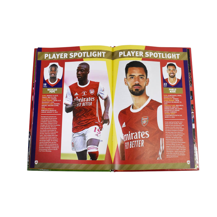 7-9 - The Official Arsenal Football Annual 2021 - Hardcover - Age 7-9