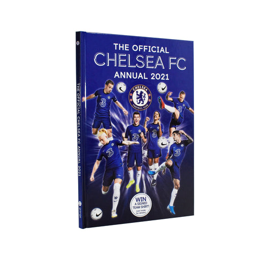 7-9 - The Official Chelsea FC Annual 2021 - Hardcover - Age 7-9