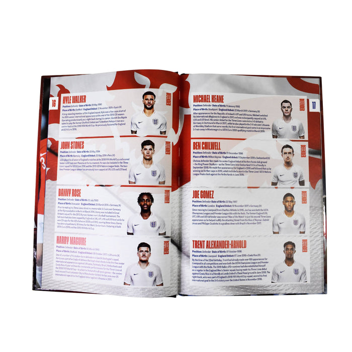 7-9 - The Official England Football Team Annual 2021 - Hardcover - Age 7-9