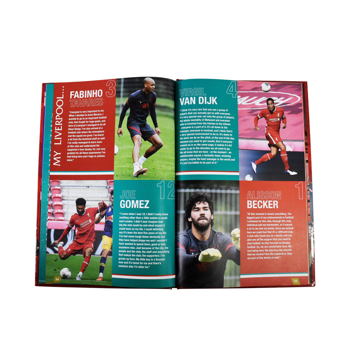 7-9 - The Official Liverpool Football Annual 2021 - Hardcover - Age 7-9