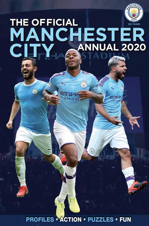The Official Manchester City Football 2020 Annual - Hardback - Books2Door