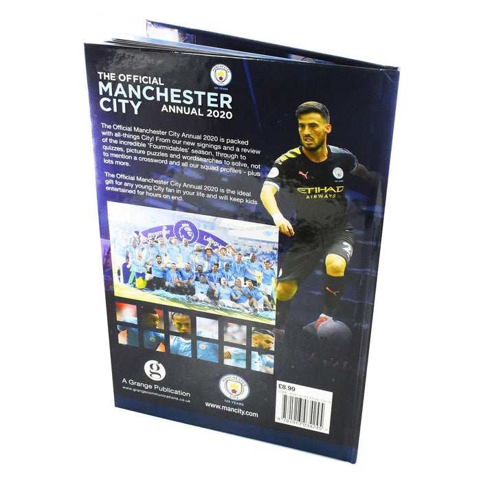 The Official Manchester City Football 2020 Annual - Hardback - Grange - Books2Door