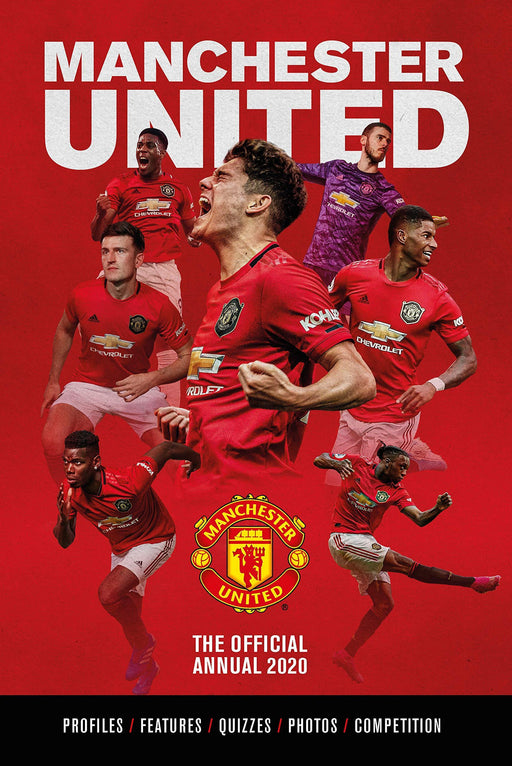 The Official Manchester United Football Annual 2020 - Hardback - Books2Door