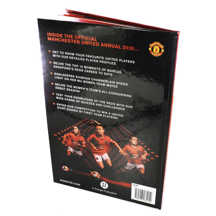 The Official Manchester United Football Annual 2020 - Hardback - Grange - Books2Door