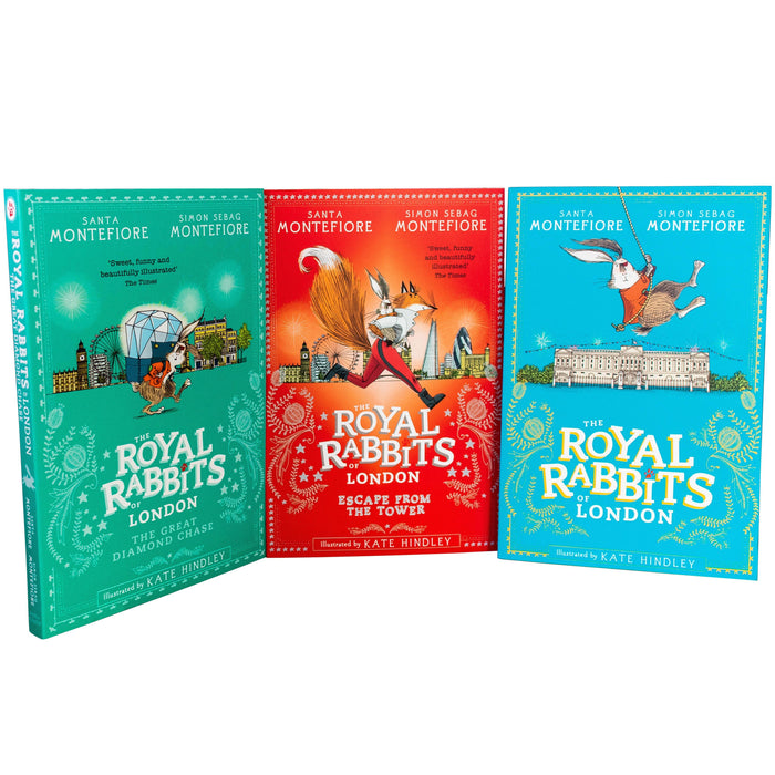 The Royal Rabbits of London 3 Books Collection Set - Ages 7-9 - Paperback/Hardback - Santa Montefiore - Books2Door