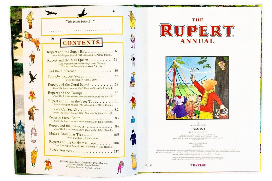 The Rupert Annual 2019 - Books2Door