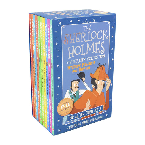 The Sherlock Holmes Children's Collection : Mystery, Mischief and Mayhem 10 Books (Series 2) - Age 7-9 - Paperback - Sir Arthur Conan Doyle 7-9 Sweet Cherry Publishing