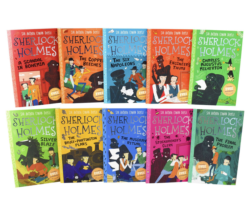 7-9 - The Sherlock Holmes Children's Collection : Mystery, Mischief And Mayhem 10 Books (Series 2) - Paperback - Age 7-9 -Sir Arthur Conan Doyle