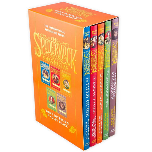 The Spiderwick Chronicles 5 Book Collection - Ages 7-9 - Hardback - Tony DiTerlizzi & Holly Black - Books2Door