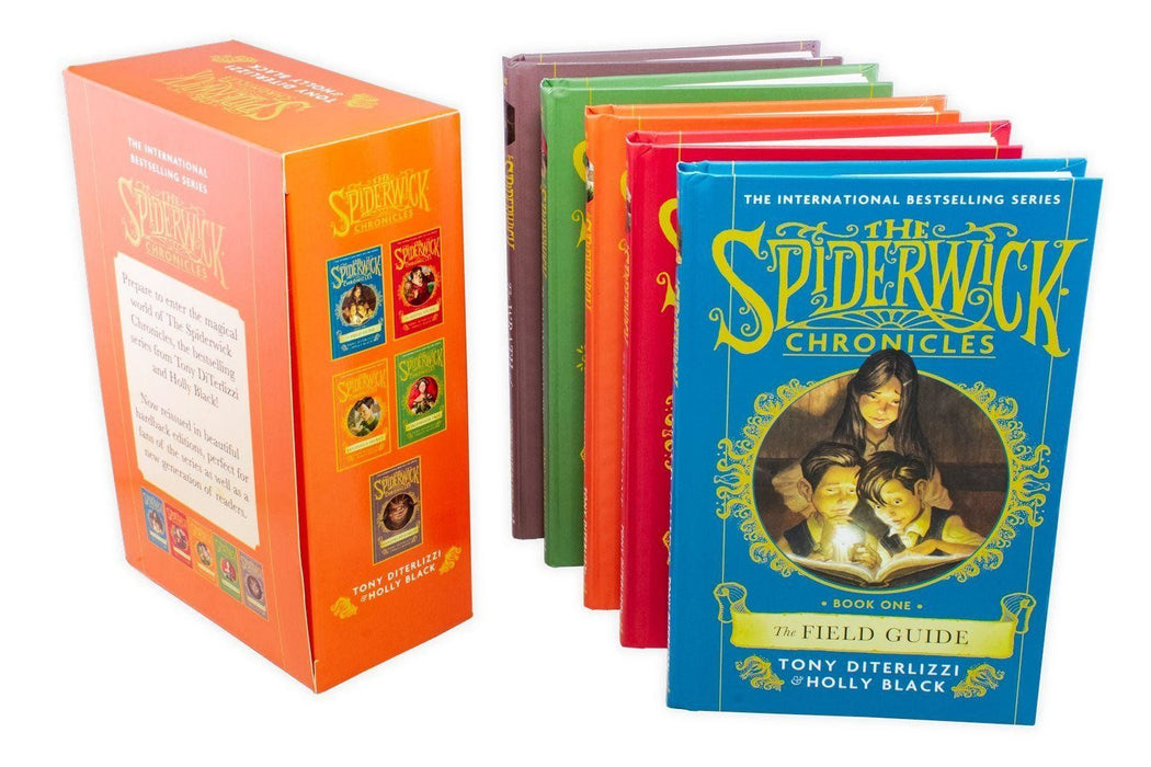 The Spiderwick Chronicles 5 Book Collection - Ages 7-9 - Hardback - Tony DiTerlizzi & Holly Black 7-9 Simon and Schuster