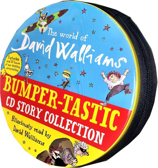 The World of David Walliams Story Collection Audio Books 27 CD Set in Tin Case - Books2Door