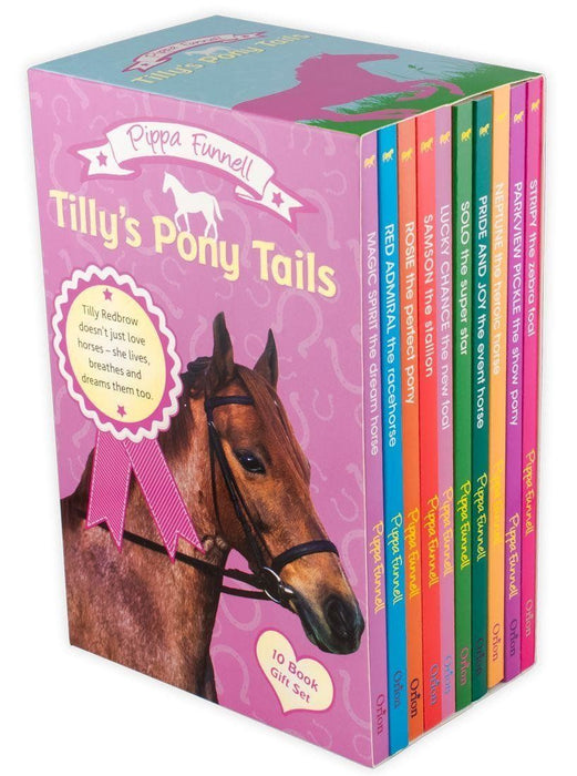 Tilly's Pony Tails 10 Book Collection - Books2Door