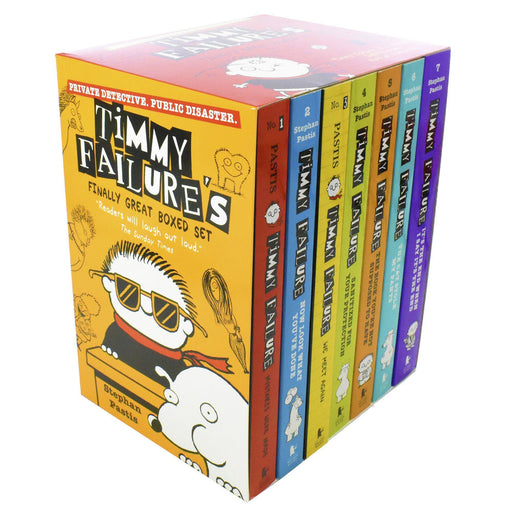 Timmy Failure's Finally Great Boxed Set Volume 1 - 7 - Humour - Paperback - Stephan Pastis - Books2Door