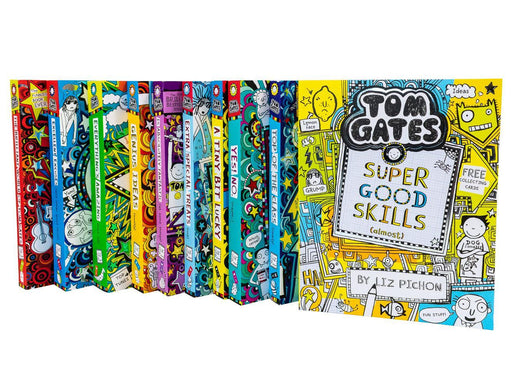 Tom Gates 10 Books  (Books 1 to 10) - Ages 9-14 - Paperback - Liz Pichon - Books2Door