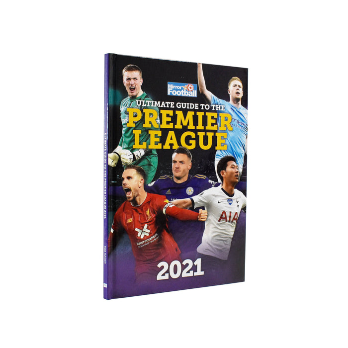 7-9 - Ultimate Guide To The Premier League Annual 2021- Hardcover - Age 7-9