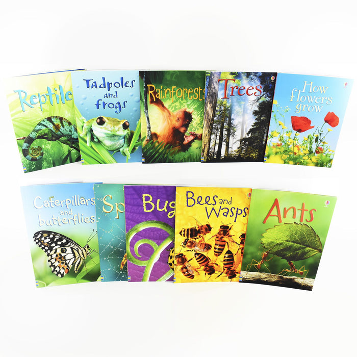 Usborne Beginners Nature 10 Books Children Collection - Books2Door