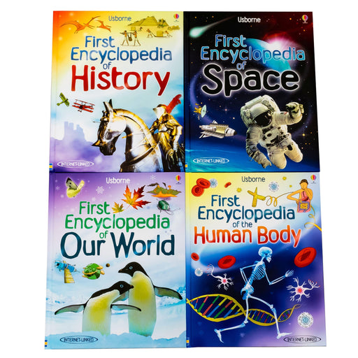 Usborne First Encyclopedia 8 Books - Ages 7-9 - Hardback - Books2Door