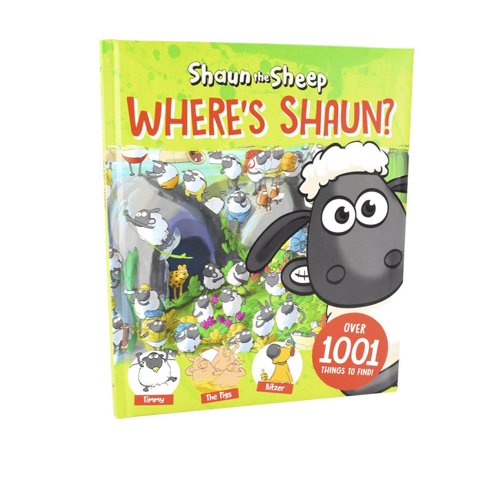 7-9 - Where's Shaun? (An Official Shaun The Sheep Search-and-Find Book) - Ages 7-9 - Hardback - Sweet Cherry Publishing