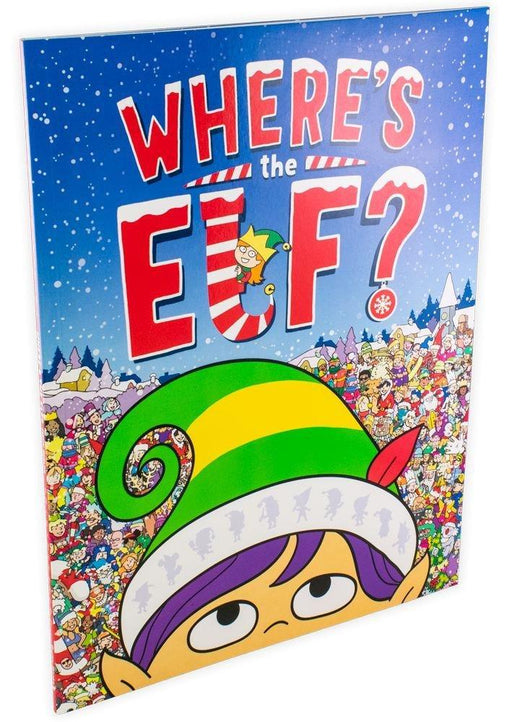 Where's the Elf? A Christmas Search-and-Find Adventure - Ages 7-9 - Paperback - Chuck Whelon - Books2Door