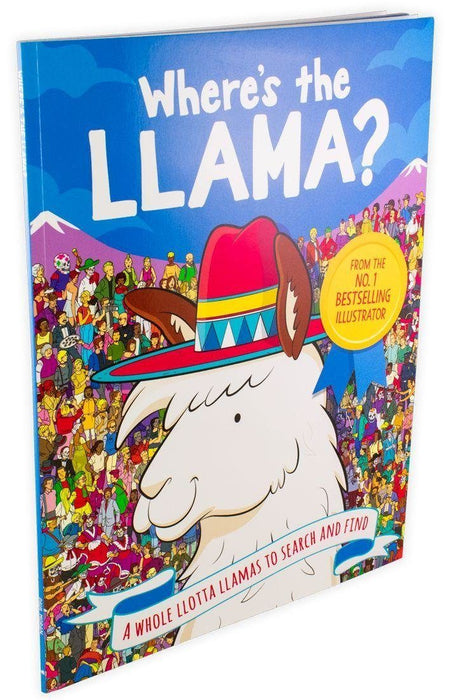 Where's the Llama? A Whole Llotta Llamas to Search and Find - Ages 7-9 - Paperback - Paul Moran - Books2Door