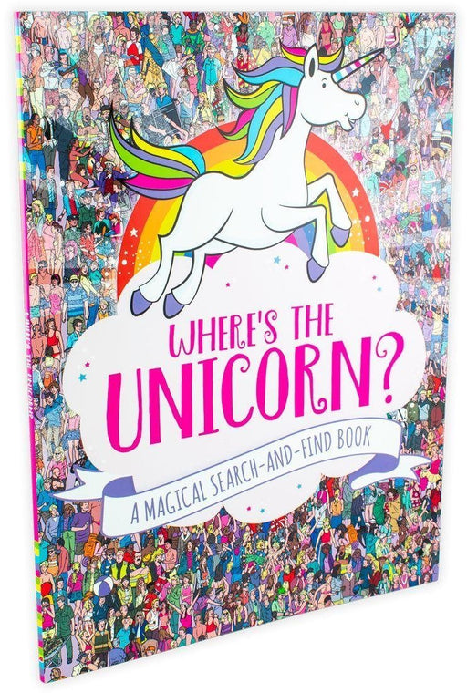 Where's The Unicorn: a Magical Search-and-Find Book - Ages 7-9 - Paperback - Jonny Marx and Sophie Schrey - Books2Door