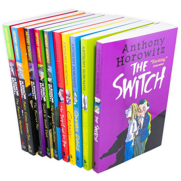 Wickedly Funny 10 Book Collection - Ages 7-9 - Paperback - Anthony Horowitz - Books2Door
