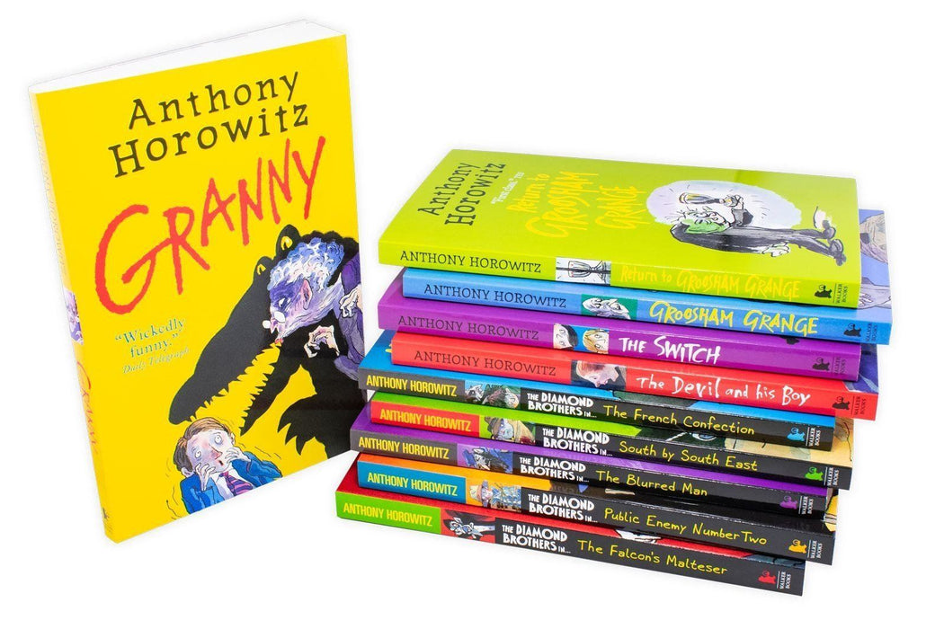 Wickedly Funny 10 Book Collection - Ages 7-9 - Paperback - Anthony Horowitz 7-9 Walker Books