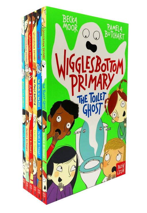 7-9 - Wigglesbottom Primary Series 6 Books Collection - Ages 7-9 - Paperback By Pamela Butchart