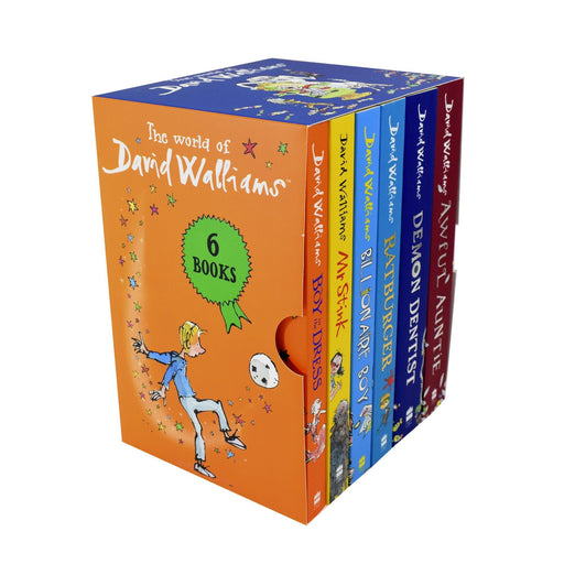 7-9 - World Of David Walliams 6 Books Children Set - Ages 7-9 - Paperback Gift Pack Set