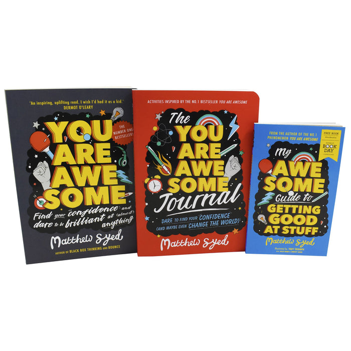 7-9 - You Are Aweseome 3 Books Collection Set By Matthew Syed - Paperback _ Non Fiction