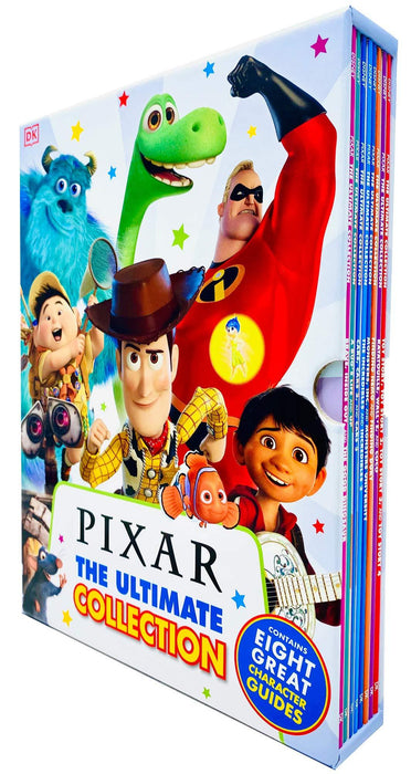Disney Pixar The Ultimate Collection 8 Books Box Set - Paperback - Age 5-7