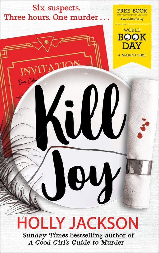 Kill Joy A World Book Day 2021: Thrilling Prequel Story to the Sunday - Paperback -Age Young Adult