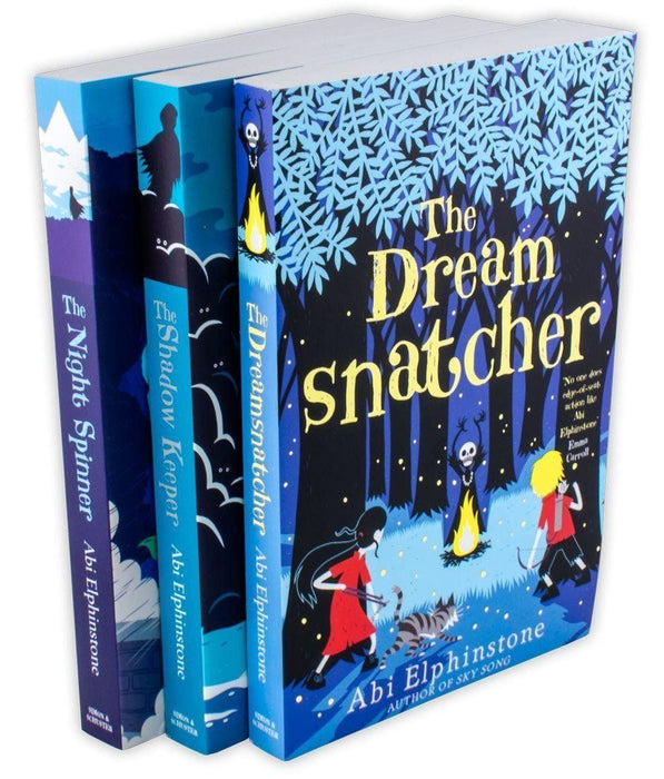 3 Book Collection, Dream Snatcher, Shadow Keeper, Night Spinner - Ages 9-14 - Paperback - Abi Elphinstone - Books2Door