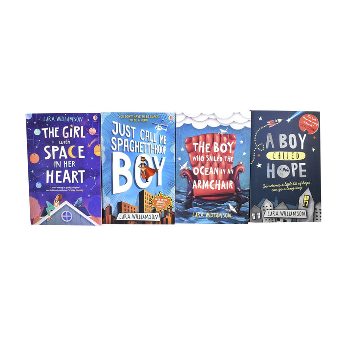 9-14 - A Boy Called Hope Lara Williamson 4 Books Set – Ages 9-14 – Paperback