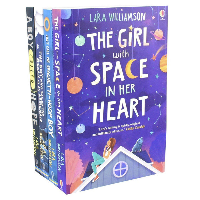 A Boy Called Hope Lara Williamson 4 Books Set – Ages 9-14 – Paperback