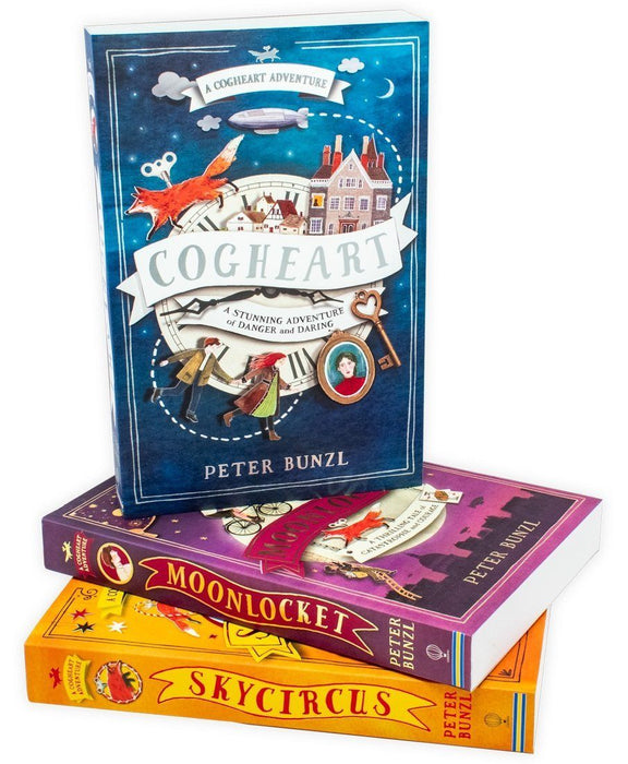 A Cogheart Adventure 3 Book Collection - Ages 9-14 - Paperback - Peter Bunzl - Books2Door