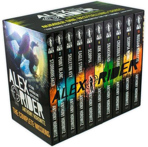 Alex Rider 10 Books Box Set Collection - Spy Fiction - Paperback - Anthony Horowitz - Books2Door