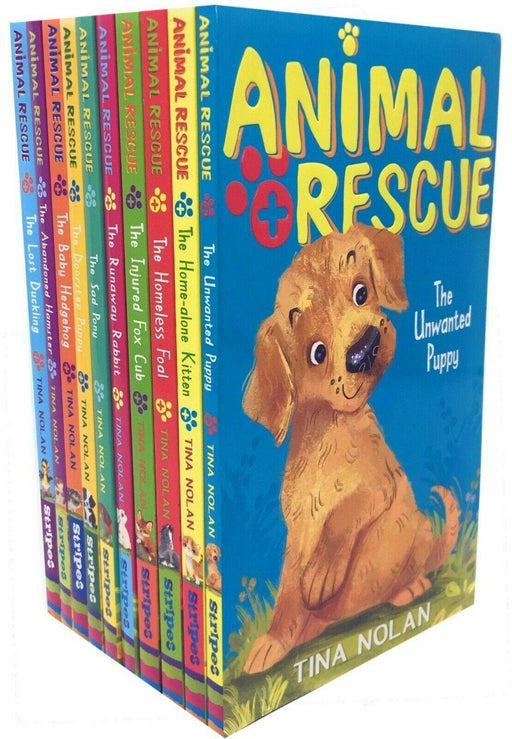 Animal Rescue Series 10 Books Collection Set - Ages 9-14 - Paperback - Tina Nolan - Books2Door